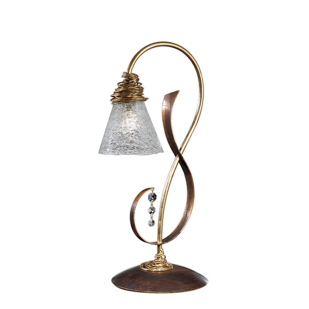 Luminaire lampe sib ria e luminaire - Lampe de chevet fer forge ...