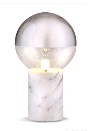 lampe carrare blanc