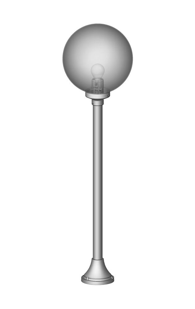 Luminaire borne boule 300 e luminaire for Luminaire exterieur boule