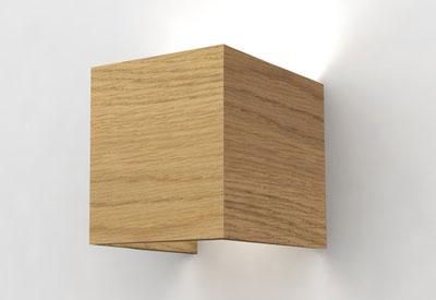 applique cube lucid e luminaire clairage contemporain. Black Bedroom Furniture Sets. Home Design Ideas