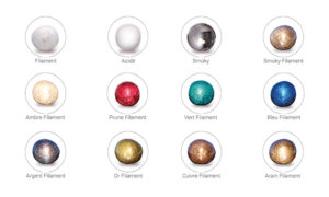 option couleurs verreries concept verre