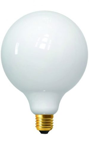 ampoule globe opaline