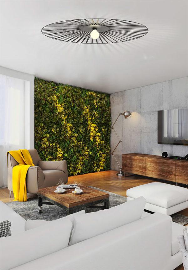 plafonnier art et decors lucie