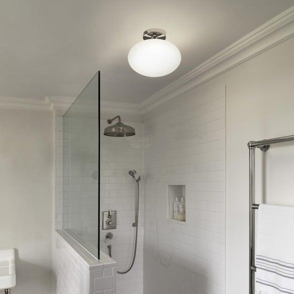 salle de bain plafonnier