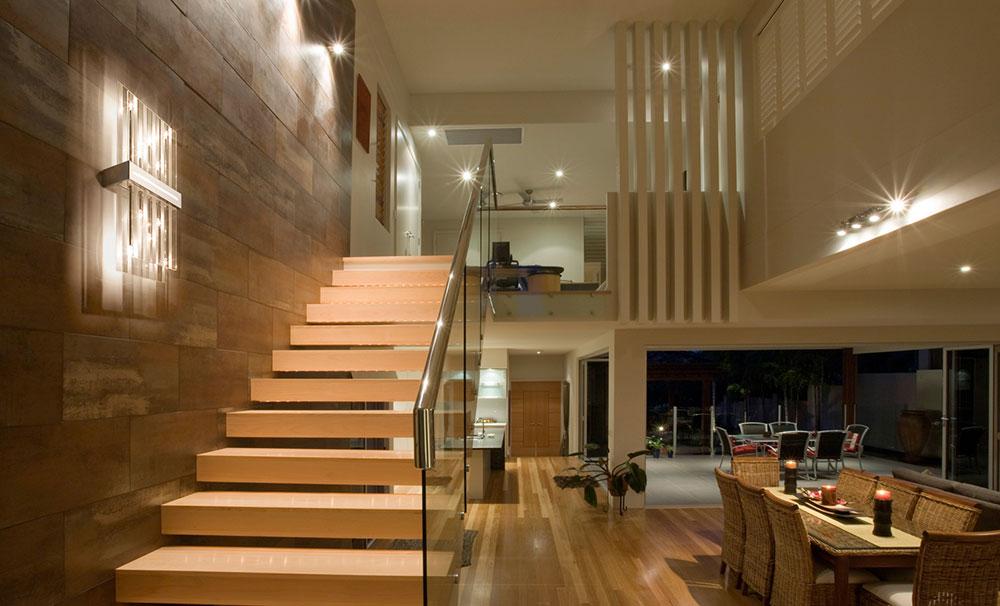 escalier applique