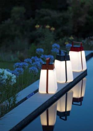 lampes solaires rotomoulé